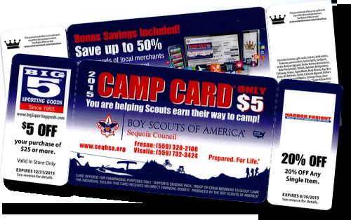 2015 Camp Cards